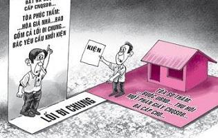 Những quy định giải quyết về luật đất đai tranh chấp lối đi chung